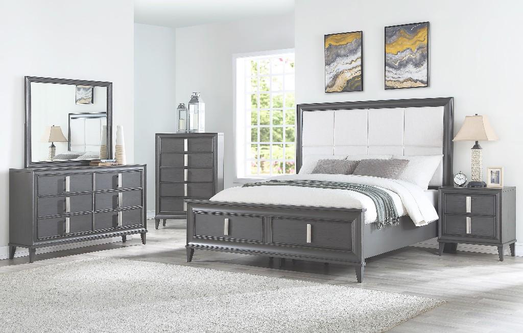 Lorraine King Storage Bed
