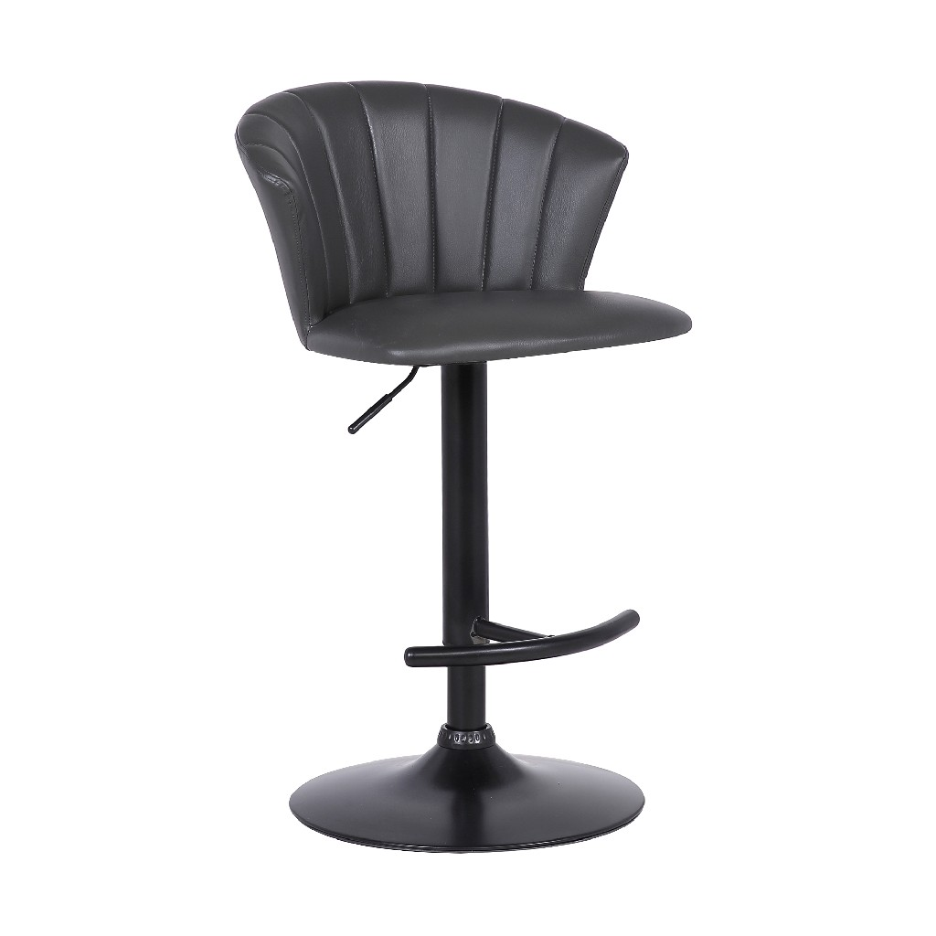 Adjustable | Leather | Modern | Stool | Live | Grey | Faux | Bar
