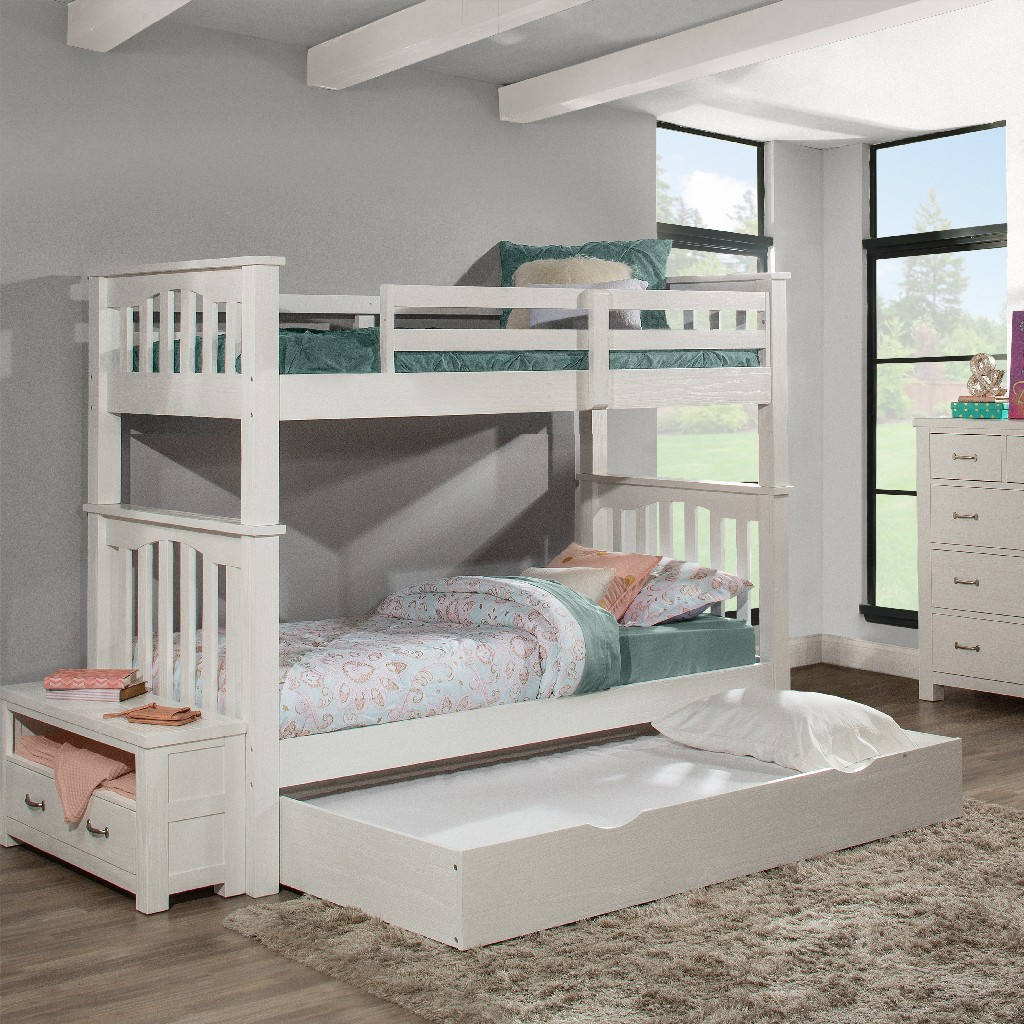 Twin Bunk Bed Trundle