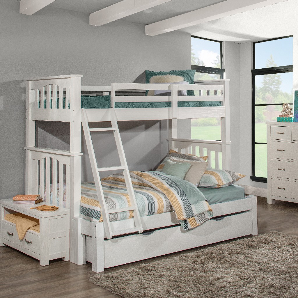 Twin Extension Bunk Bed Trundle