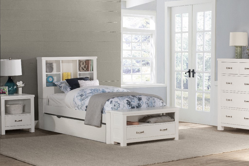 Hillsdale Bookcase Twin Bed Trundle