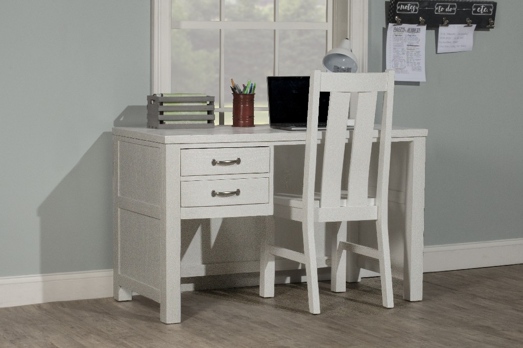 Hillsdale Desk Chair Set White Wood