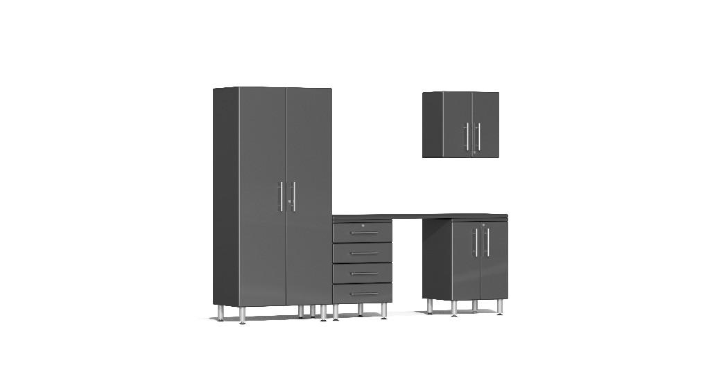 Ulti Mate Garage Kit Workstation Grey Metallic Ug G