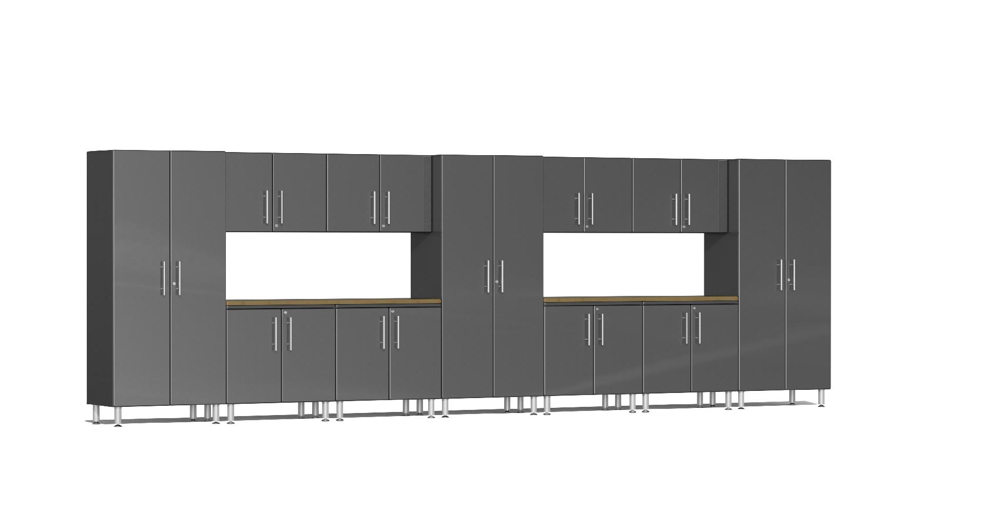 Ulti-MATE Garage 2.0 Series 13-Piece Set in Grey Metallic UG22132G