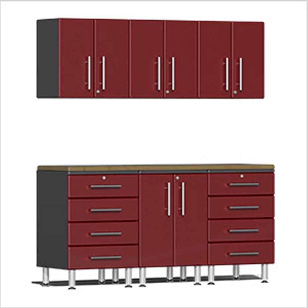 Ulti Mate Garage Workstation Kit Red Metallic Ug R