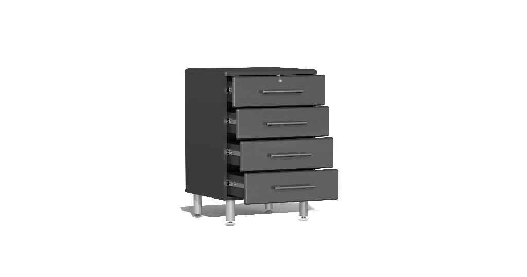 Garage Dual Workstation Kit Grey Metallic