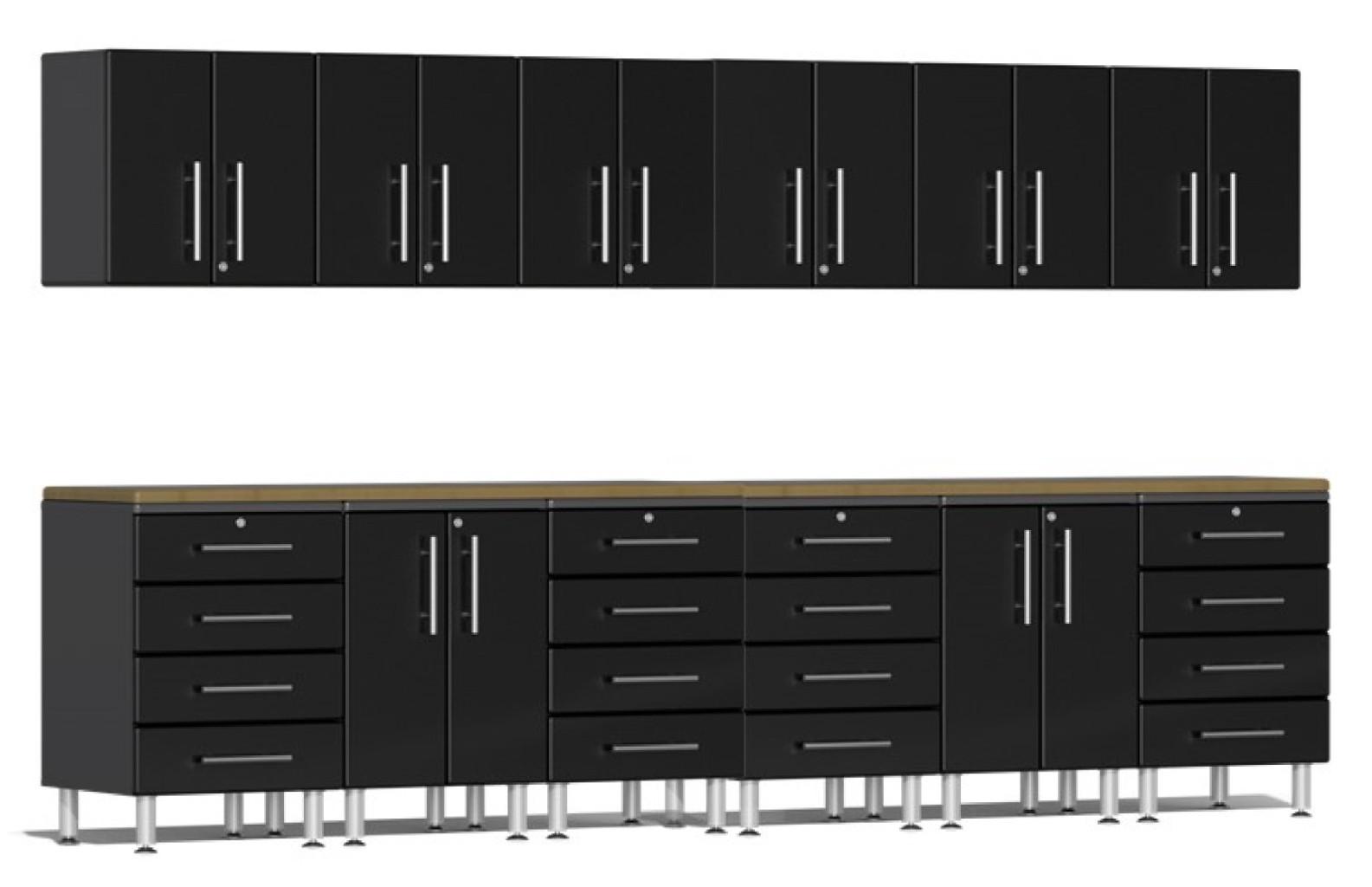 Ulti-MATE Garage 2.0 Series 14-Piece Set in Black Metallic UG23142B