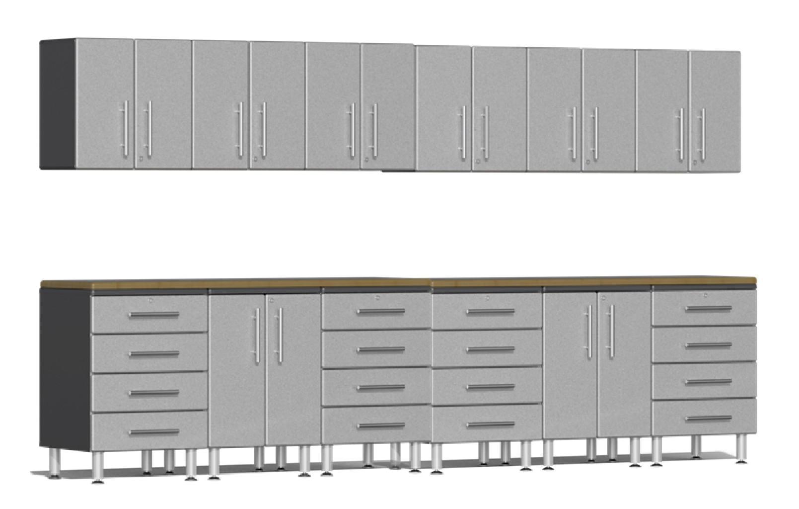 Ulti-MATE Garage 2.0 Series 14-Piece Set in Silver Metallic UG23142S