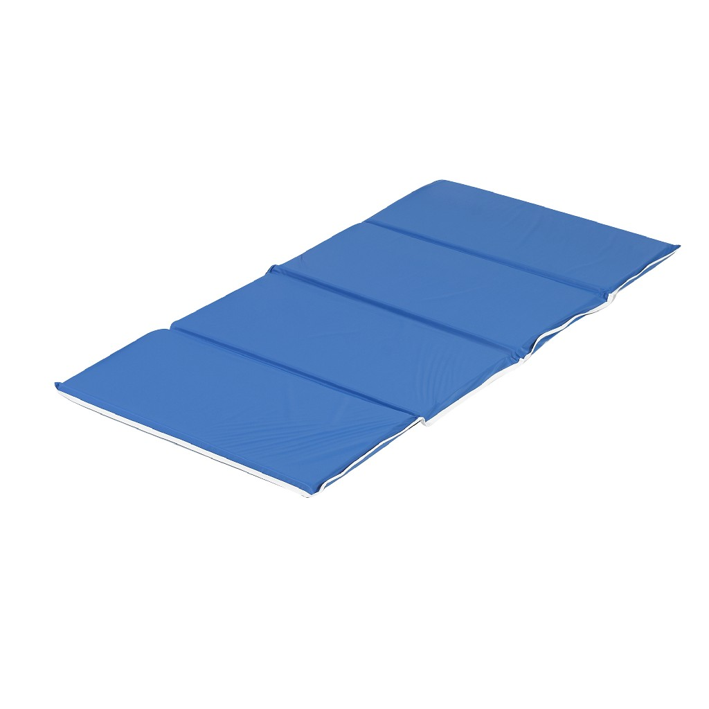 24 X 48 X 1 Blue Fold-Up Rest Mat - Whitney Brothers 140-335