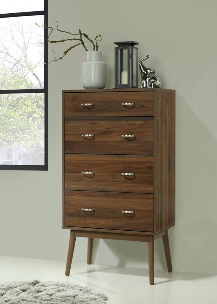 Montage Midcentury 4 Drawer Chest - 4D Concepts 151004
