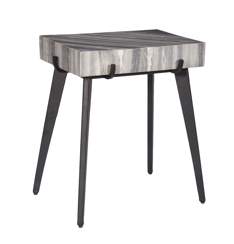 Accent Table in Grey and Black - Coast to Coast 15240