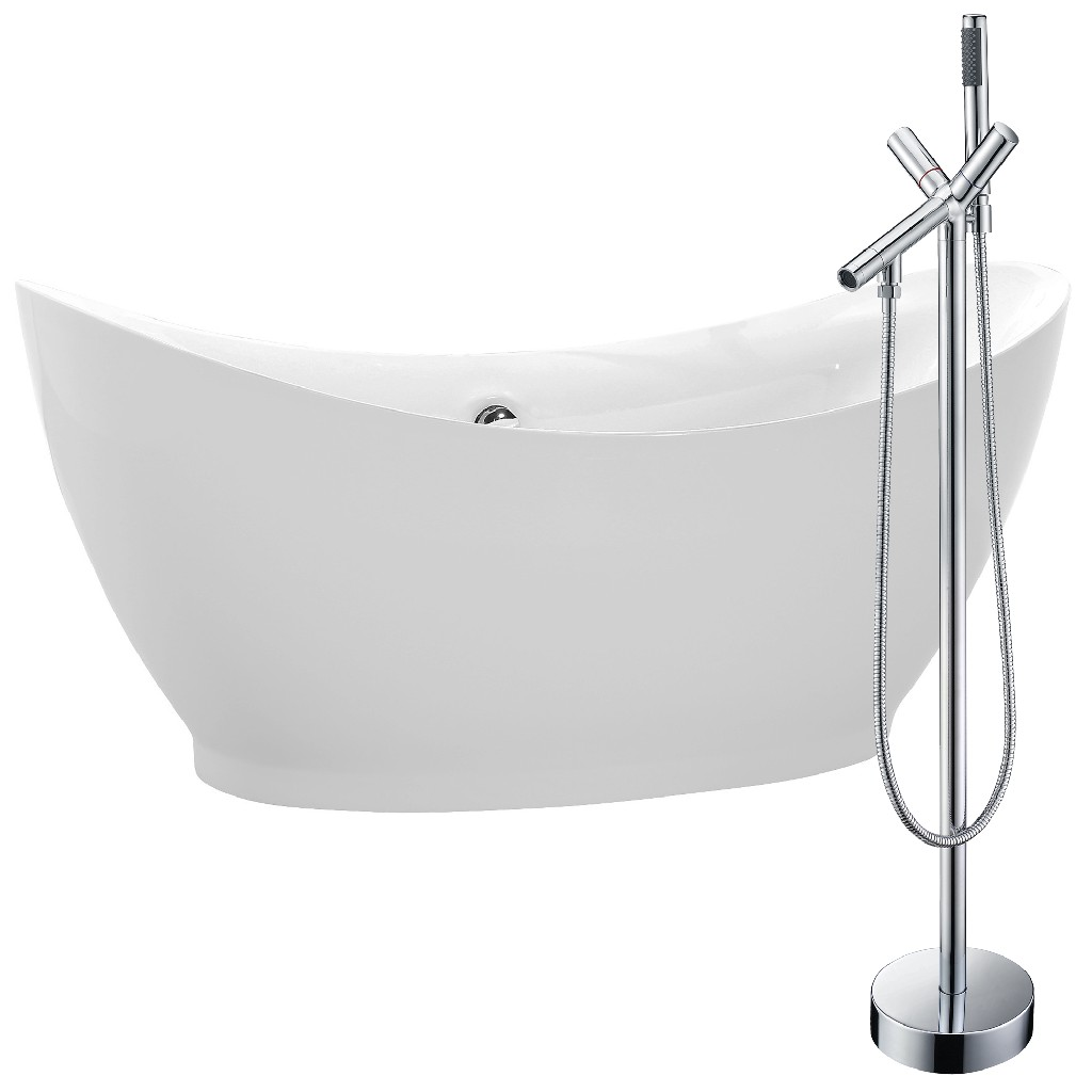 Anzzi Soaking Bathtub