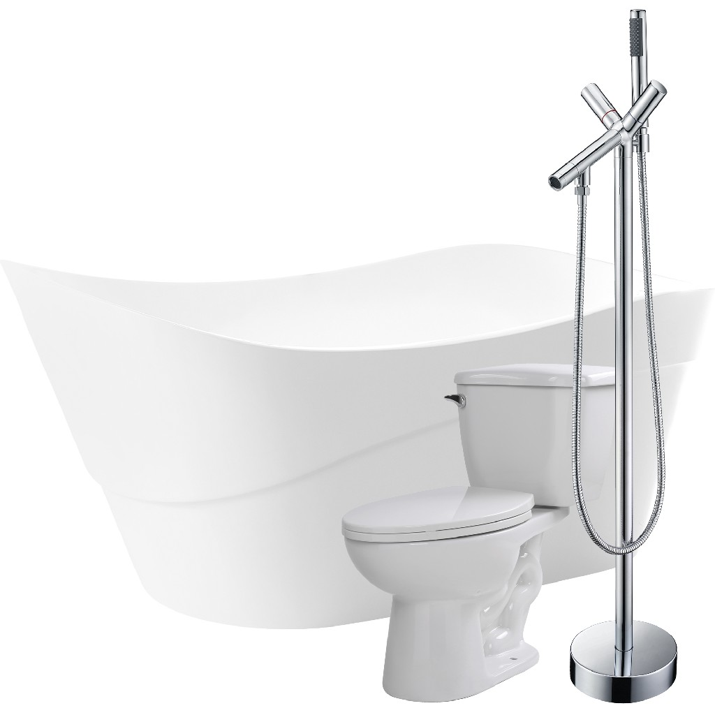 Click here for Anzzi Bathtub Havasu Faucet Kame Toilet