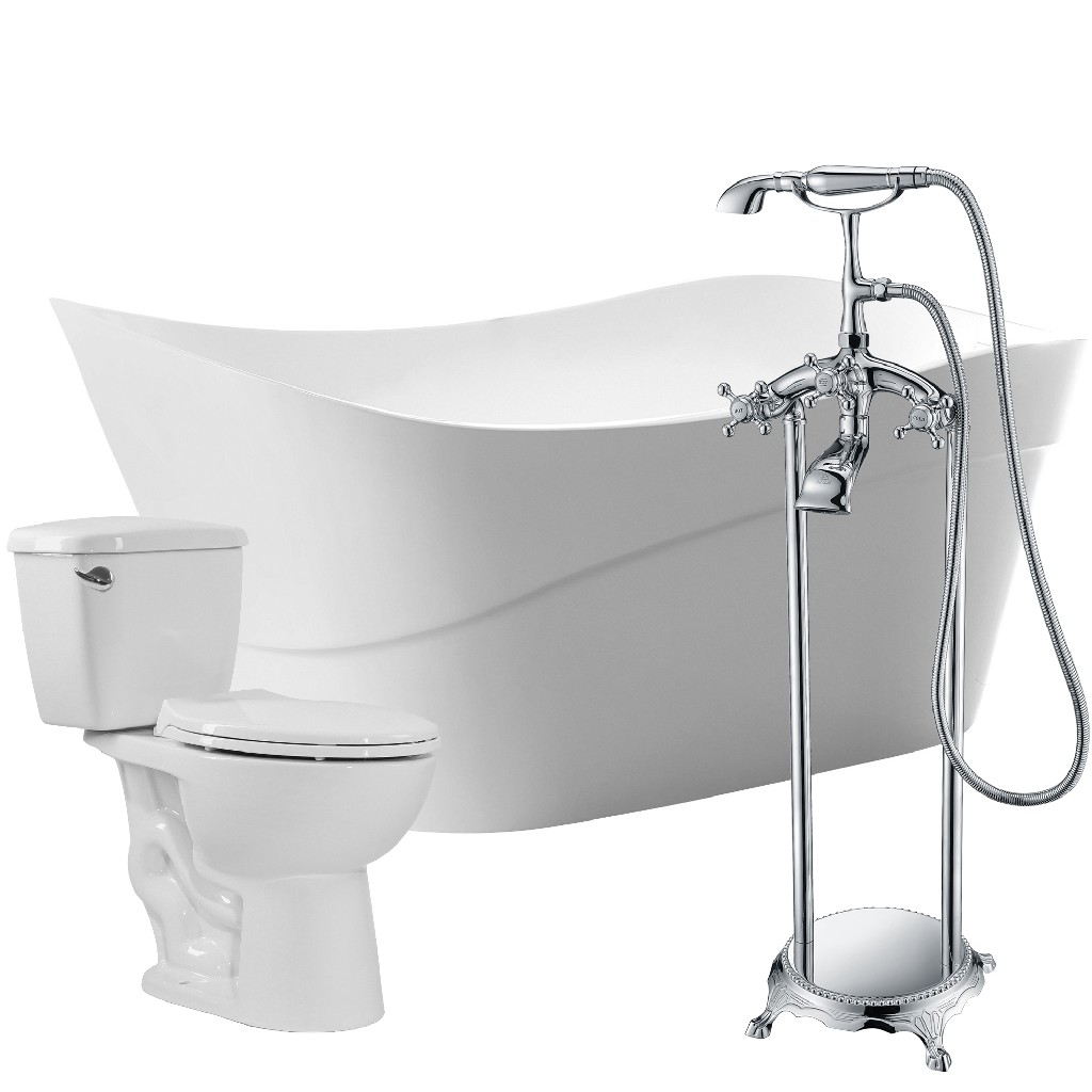 Click here for Anzzi Bathtub Faucet Cavalier Toilet