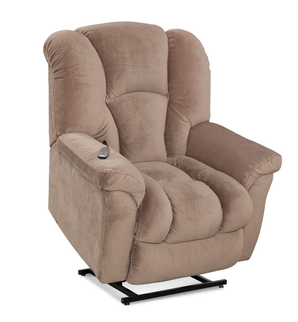 Allen Two-Motor Lift Chair Recliner in Almond - Chelsea Home Furniture 961165516-R