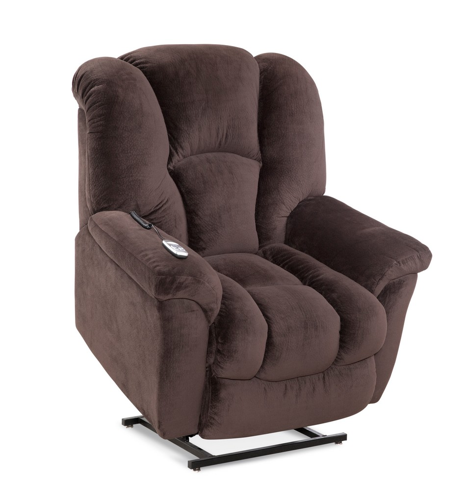 Allen Two-Motor Lift Chair Recliner in Espresso - Chelsea Home Furniture 961165520-R