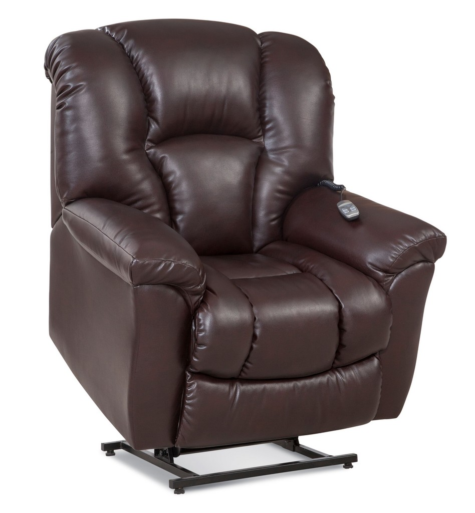 Allen Two-Motor Lift Chair Recliner in Vintage - Chelsea Home Furniture 961165521-R