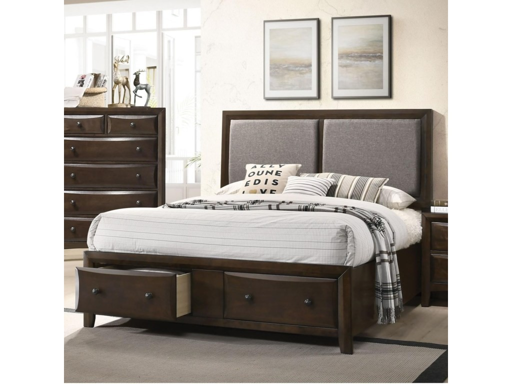 Acme King Bed