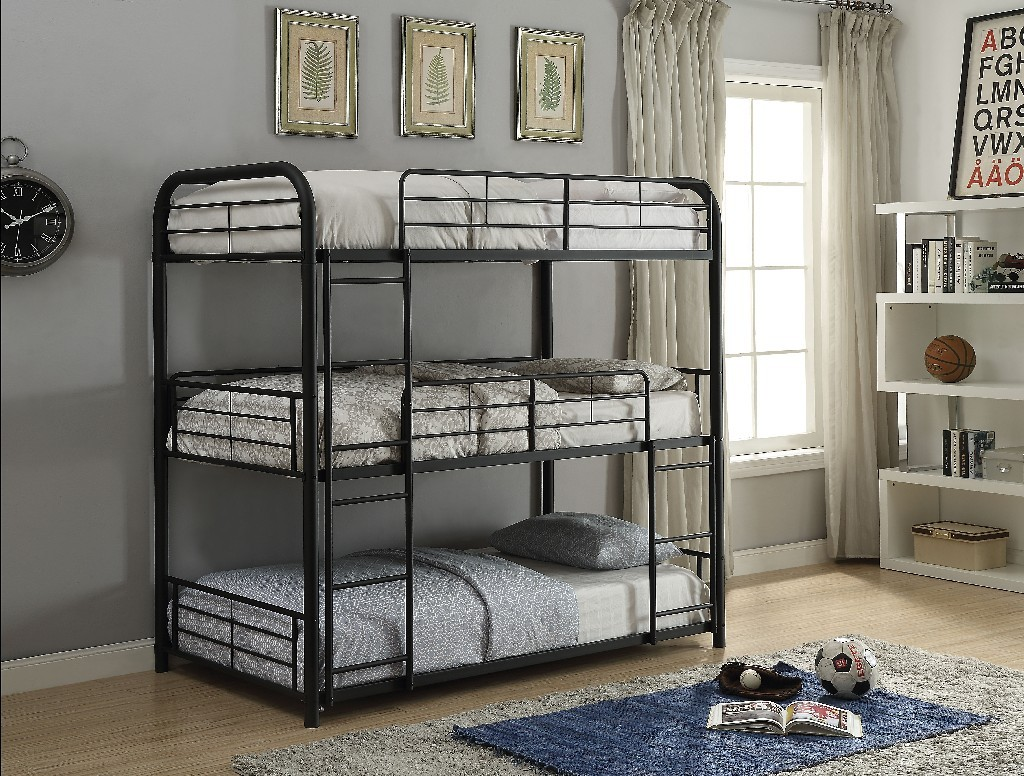 Acme Furniture Triple Bunk Bed Photo
