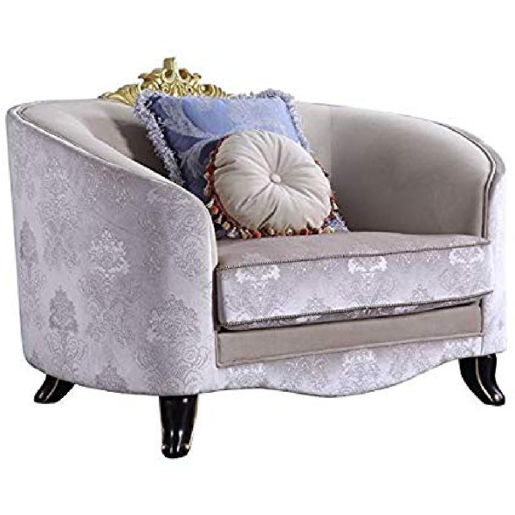 Acme Sheridan Chair Pillows Cream Fabric