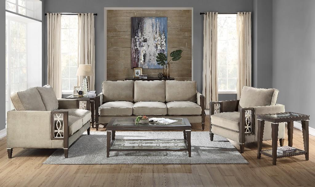Furniture | Walnut | Coffee | Glass | Table