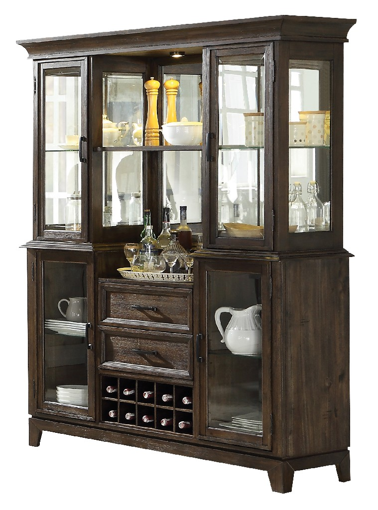 Furniture | Espresso | Buffet | Hutch