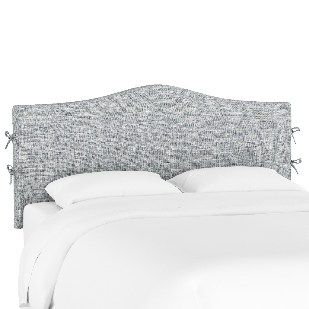 California King Slipcover Headboard in Zuma Pumice - Skyline 474SLZMPMC