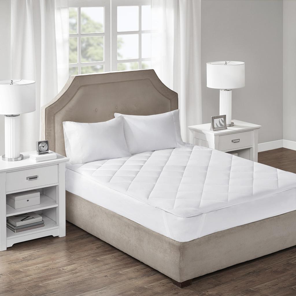 Cooling & Warm Queen Reversible Mattress Pad - Sleep Philosophy BASI16-0537