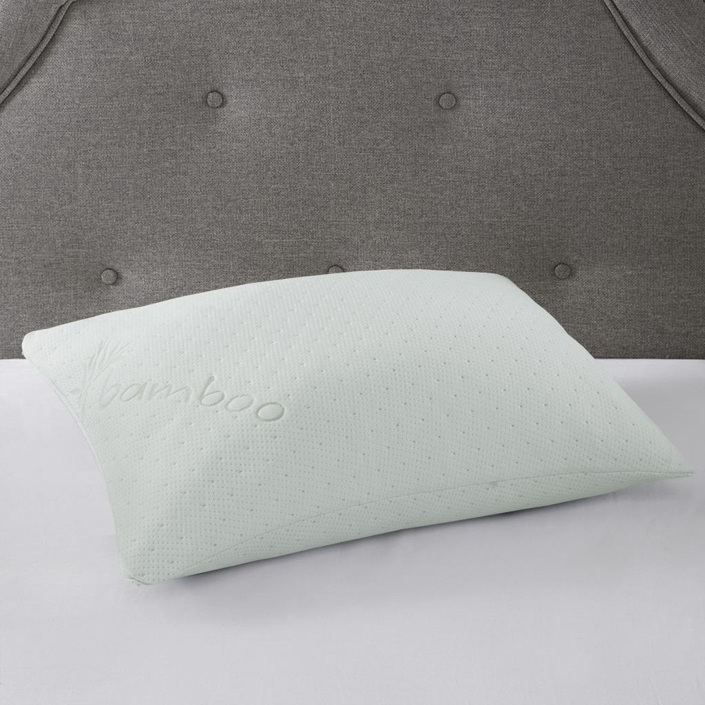 Bamboo Queen Shredded Memory Foam Pillow - Sleep Philosophy BASI30-0524