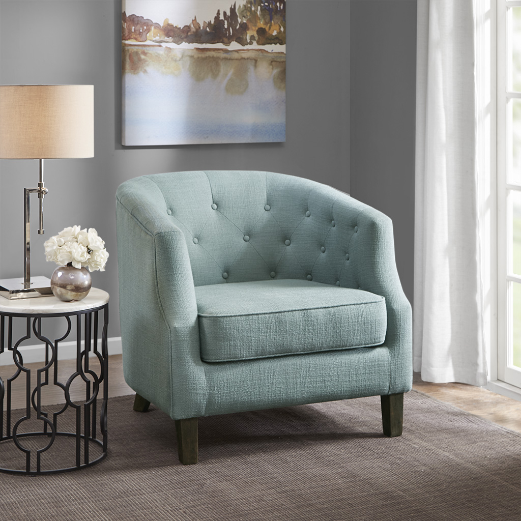 Ansley Chesterfield Barrel Chair - Madison Park MP100-0705