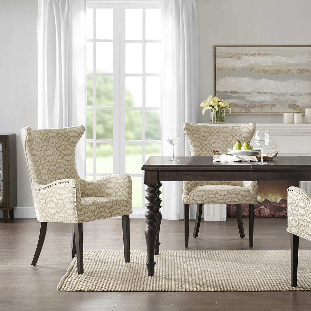 Angelica Arm Dining Chair (set of 2) - Madison Park MP108-0767