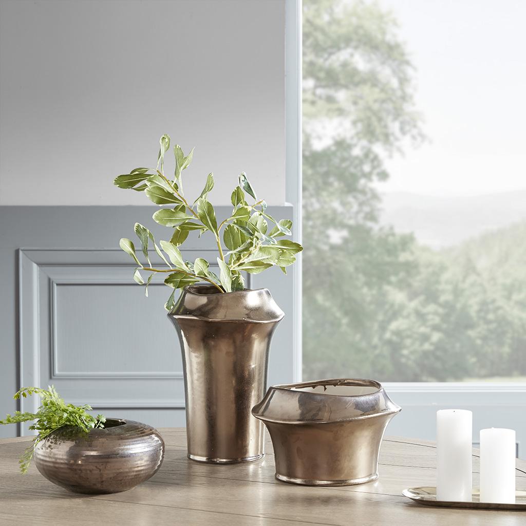 Bowery Vase Ceramic Vase (Set of 3) - Madison Park MP162-0268