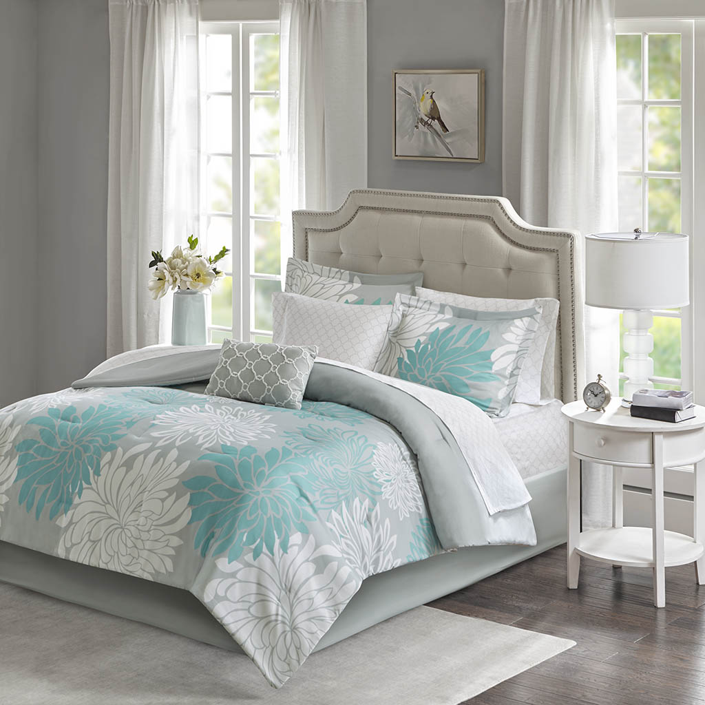 Comforter | Cotton | Sheet | Park | Twin | Set