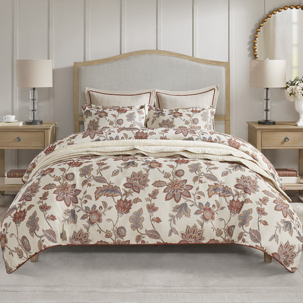 Madison Park Signature Queen Bed Upholstered