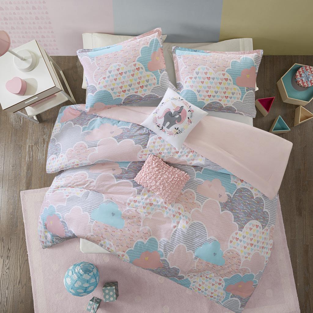 Cloud Twin/Twin XL Cotton Printed Comforter Set - Urban Habitat Kids UHK10-0013