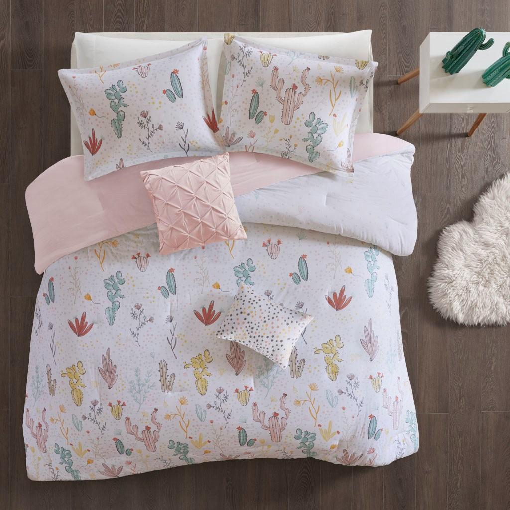 Desert Bloom Twin/Twin XL Cotton Printed Comforter Set - Urban Habitat Kids UHK10-0056