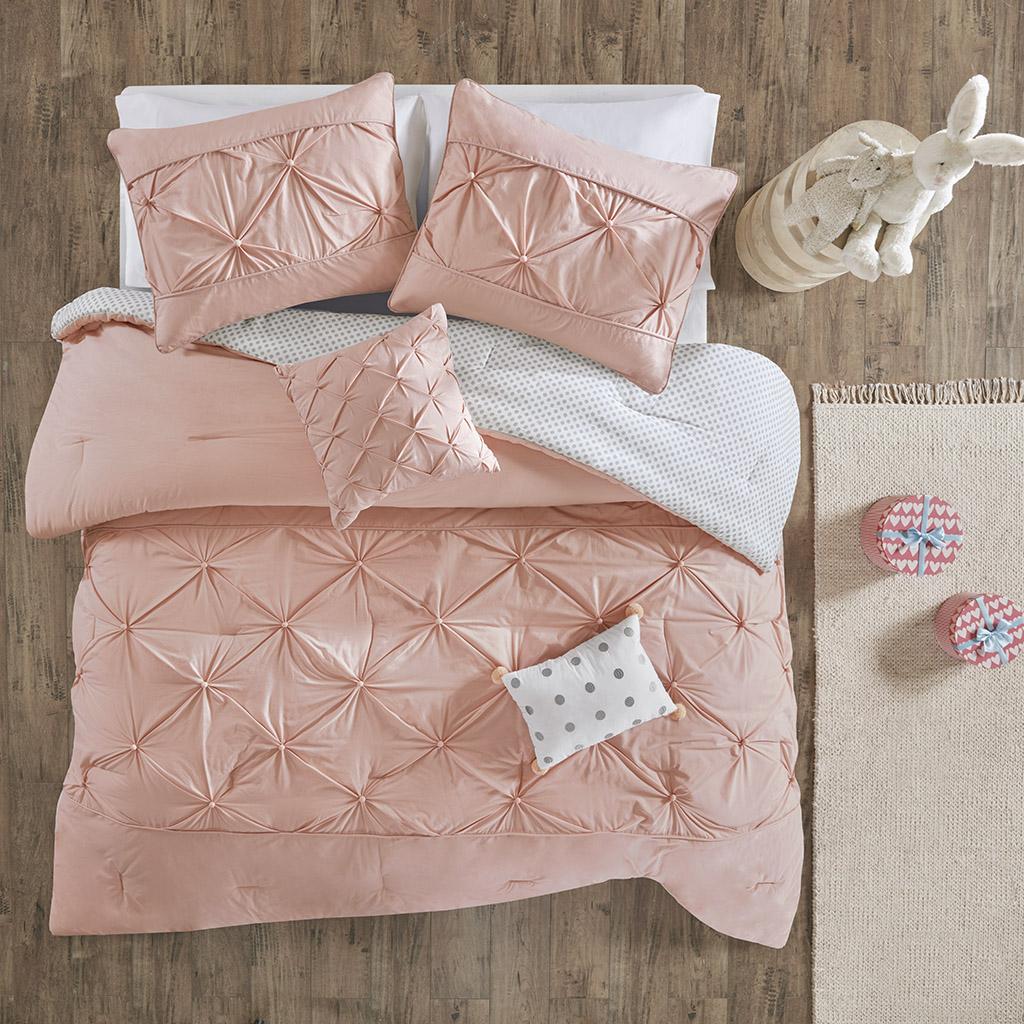 Aurora Full/Queen Cotton Reversible Comforter Set - Urban Habitat Kids UHK10-0081