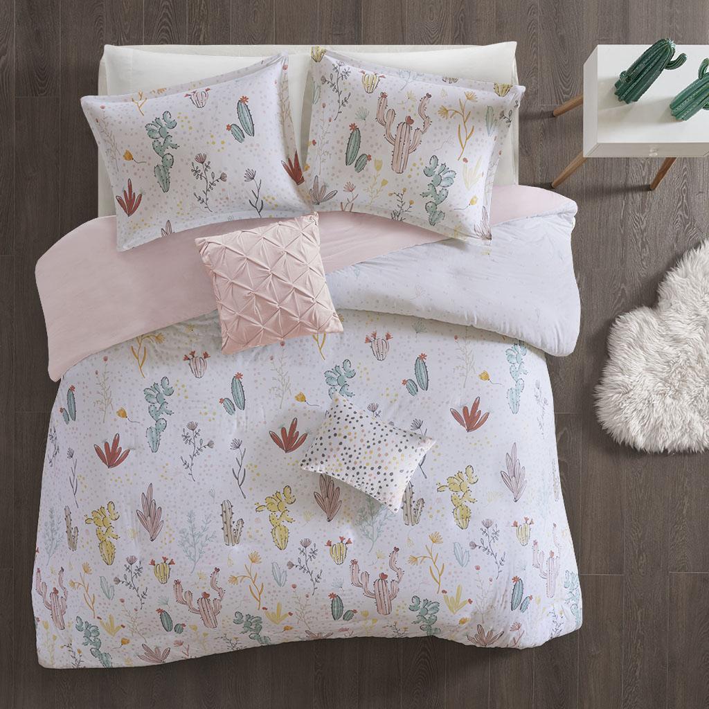 Desert Bloom Full/Queen Cotton Printed Duvet Cover Set - Urban Habitat Kids UHK12-0059