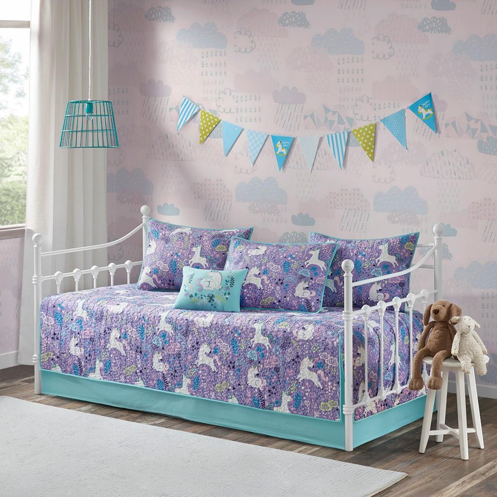 Lola 6 Piece Cotton Reversible Daybed Set - Urban Habitat Kids UHK13-0085
