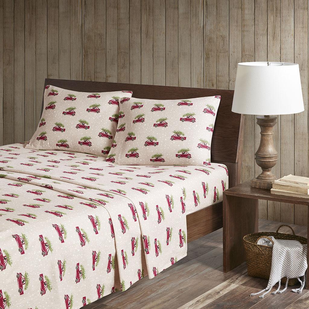 Flannel King Cotton Sheet Set - Woolrich WR20-2041