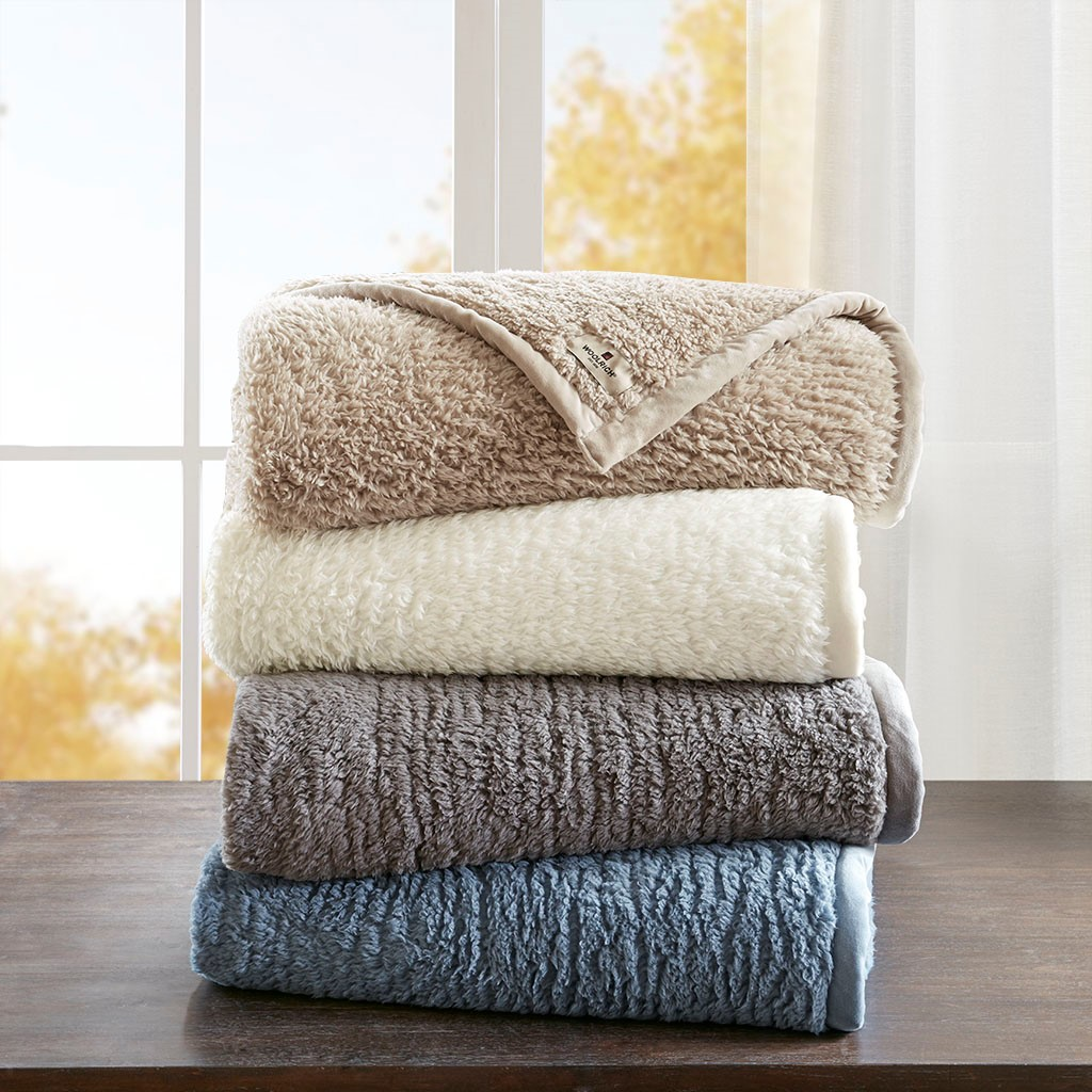 Burlington Full/Queen Berber Blanket - Woolrich WR51-2218