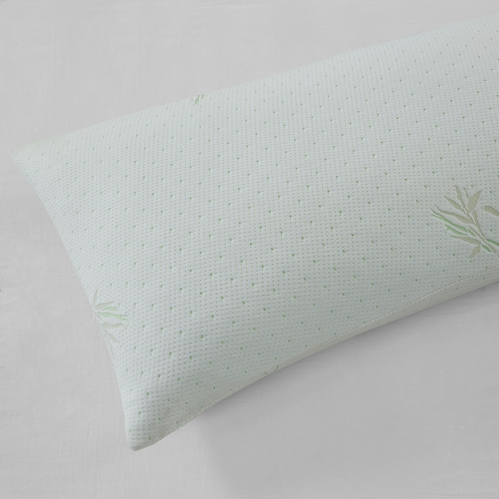 60% Polyester, 40% Bamboo Chopped Foam Pillow W/ Bamboo Cover - Olliix BASI30-0526