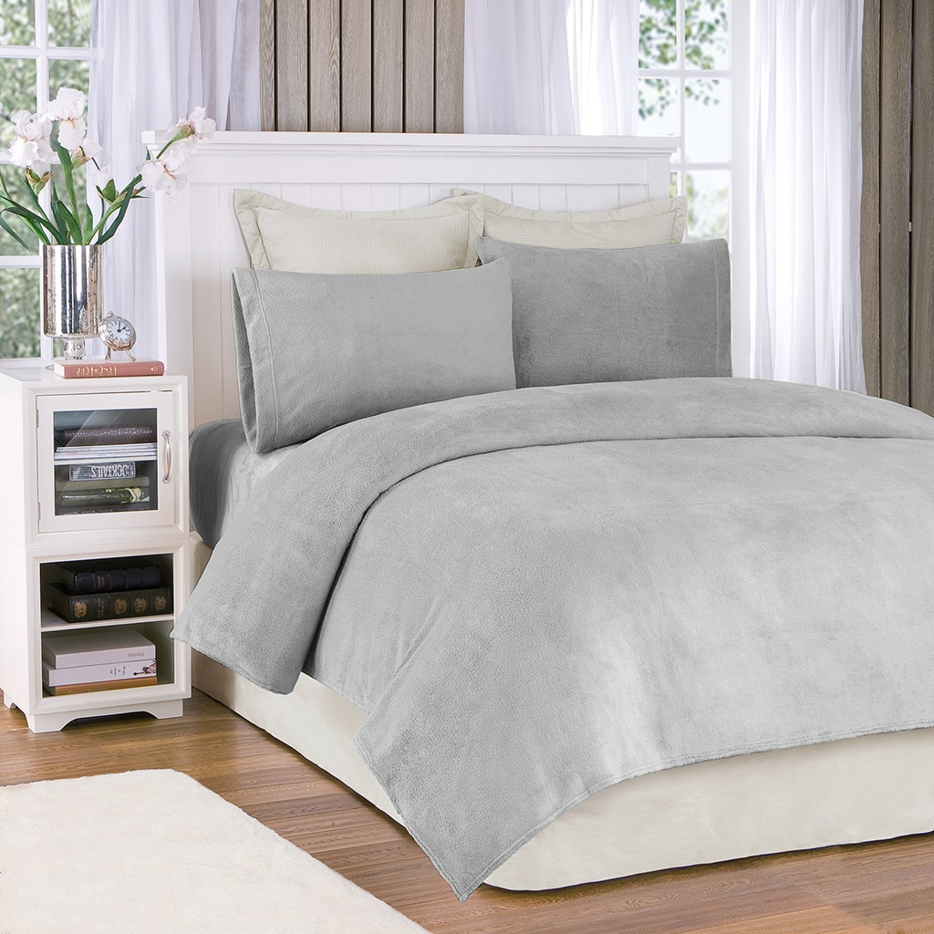 True North by Sleep Philosophy Full Sheet Set in Grey - Olliix BL20-0870