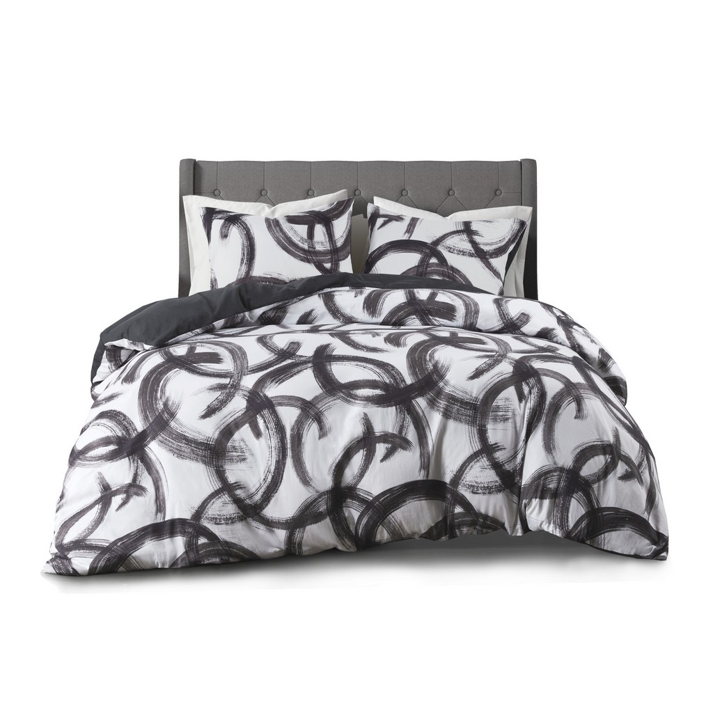 100% Cotton Printed Duvet Cover Set - Olliix CL12-0004