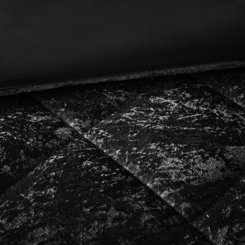 100% Polyester Crushed Velvet Duvet Cover Set - Olliix ID12-1944