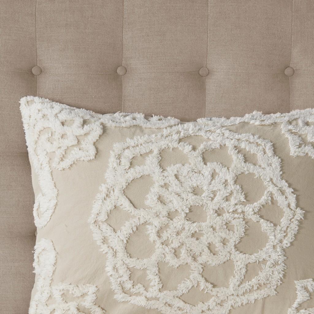 100% Cotton Tufted Comforter set - Olliix MP10-7114