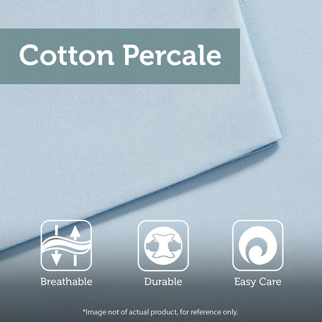 100% Cotton Percale Printed 6pcs Coverlet Set - Olliix MP13-6170