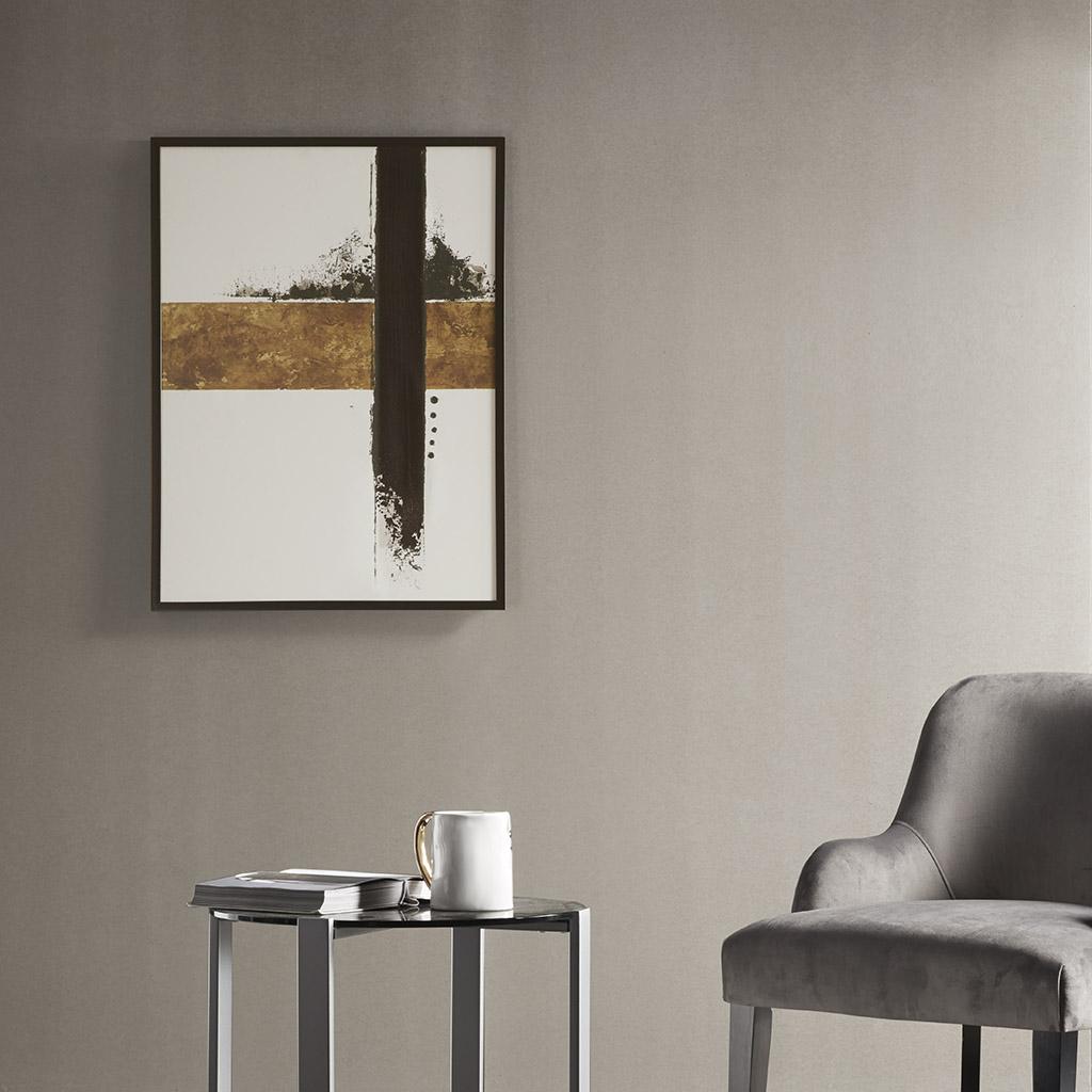 Martha Stewart 25X34 Sf Framed Embellished Canvas - Kinetic in Multi - Olliix MT95C-0018
