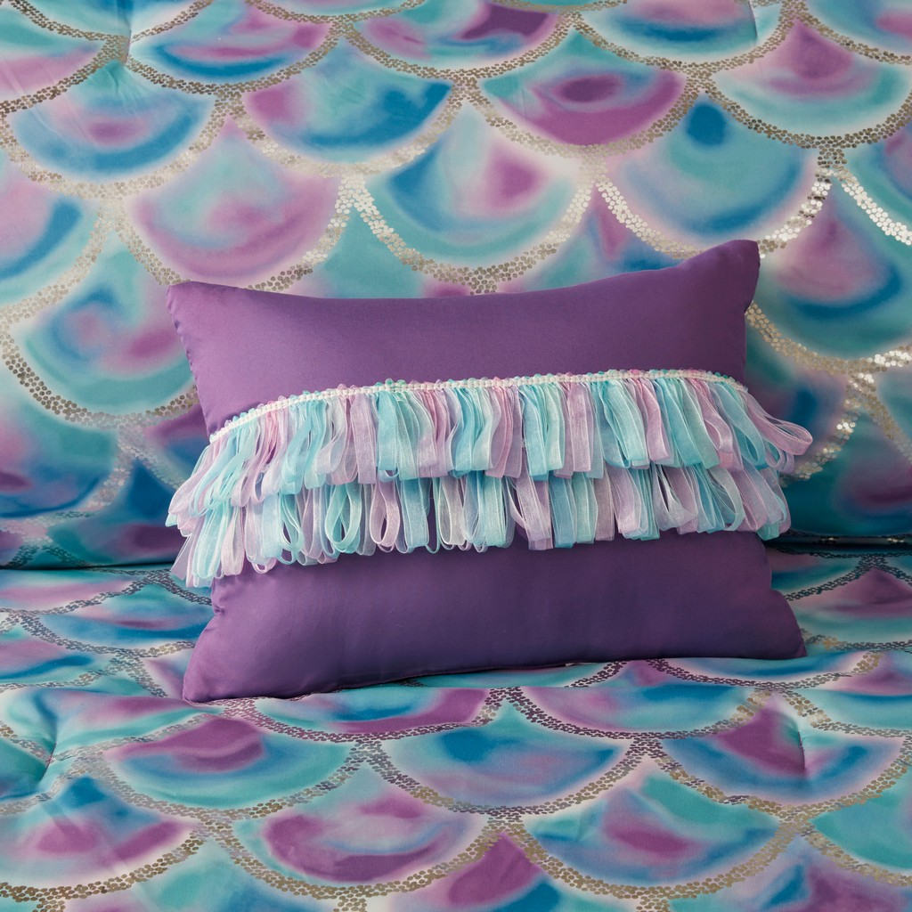 100% Polyester Metallic Printed Comforter Set - Olliix MZ10-0611
