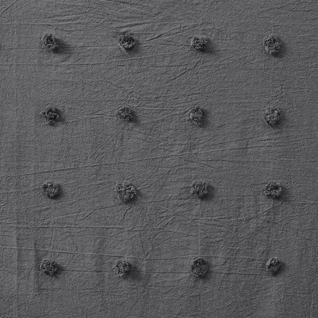 100% Cotton Pom Pom Window Panel - Olliix UH40-2369